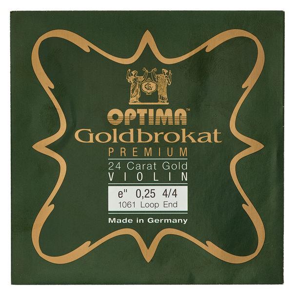 """Optima Goldbrokat 24K Gold e"""" 0.25 LP"""