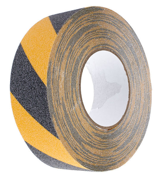 Stairville Warning Tape 18 black/yellow