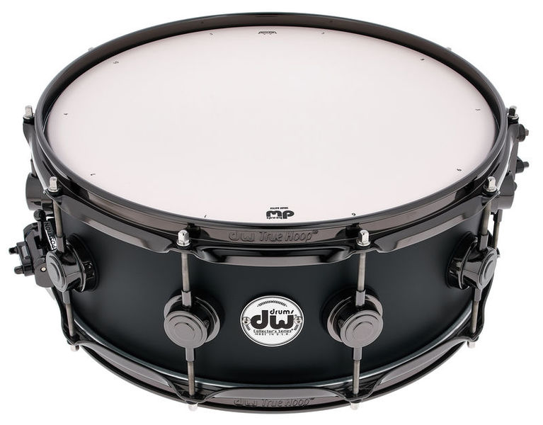 "DW Satin Oil 14""x5,5"" Ebony BN"