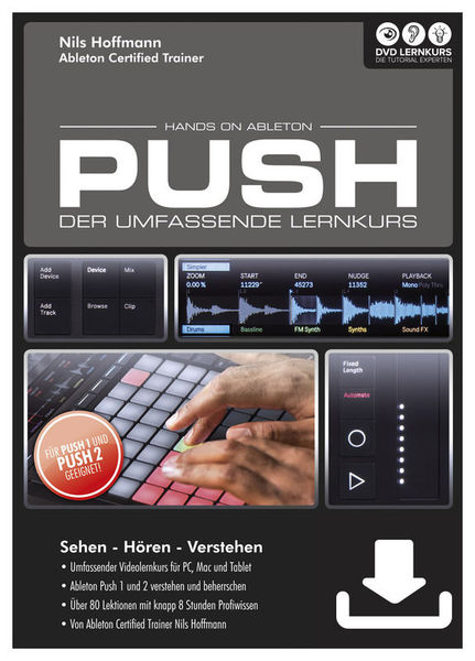 DVD Lernkurs Hands On Ableton Push