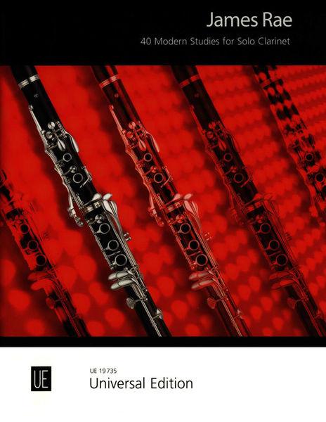 Universal Edition 40 Modern Studies Clarinet