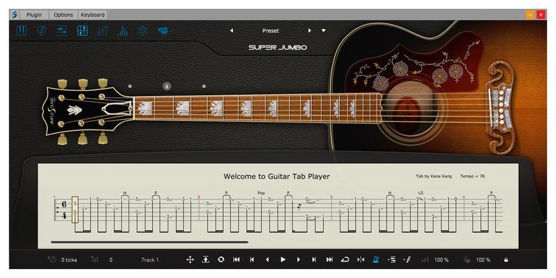 Ample Sound Ample Guitar SJ