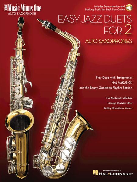 Music Minus One Easy Jazz Duets Alto Sax