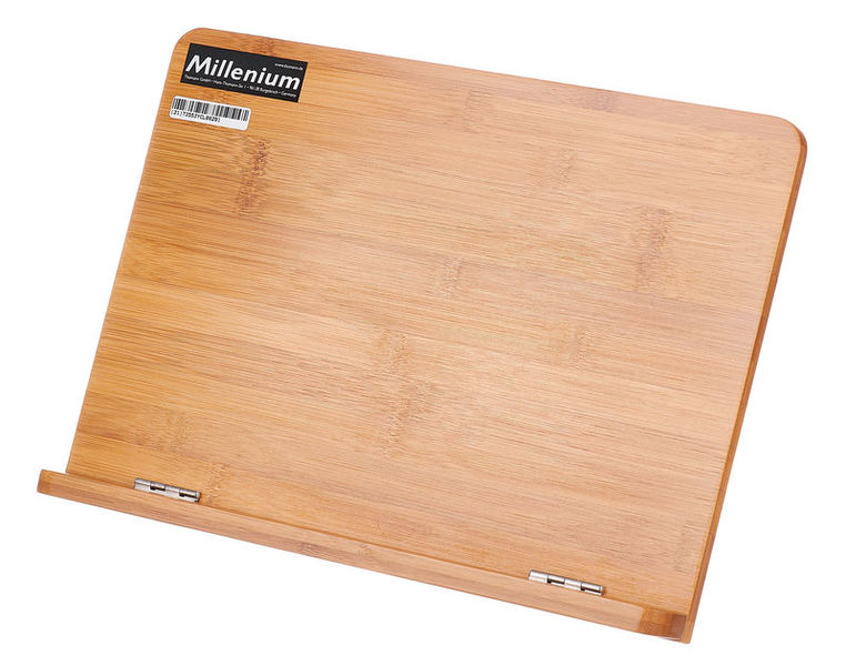 Millenium Tabletop Music Stand Bamboo
