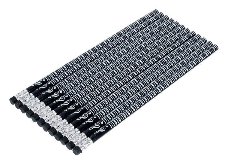 agifty Pencil Black Piano Set Of 10