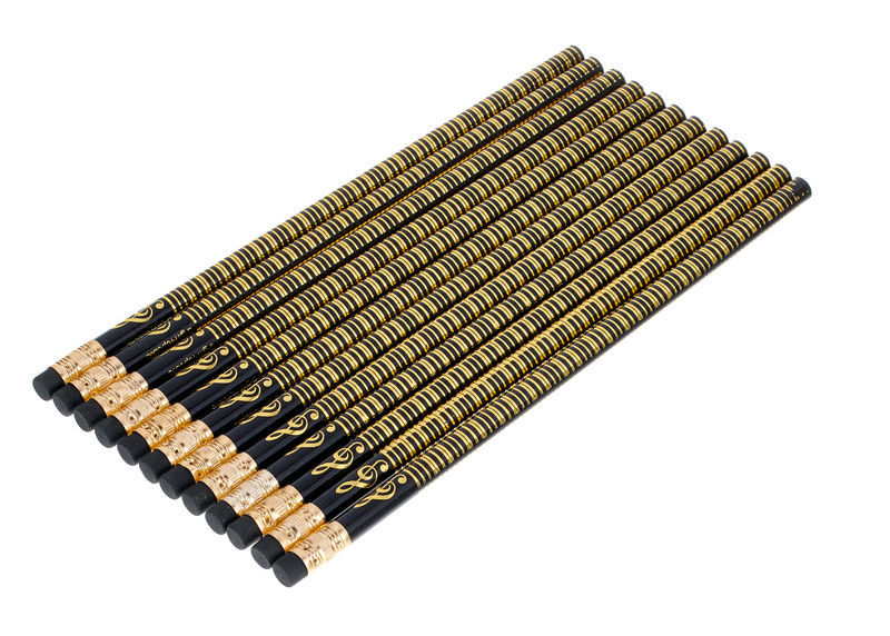 agifty Pencil Gold Piano Set Of 10