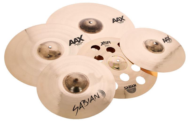 Sabian AAX Exclusive Hybrid Cym. Set