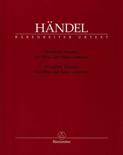 Bärenreiter Händel Sonaten Oboe