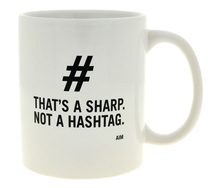 AIM Gifts That's A Sharp Mug