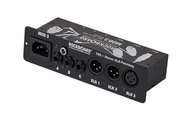 Rockboard MOD 3 V2 TRS & XLR Patch Bay