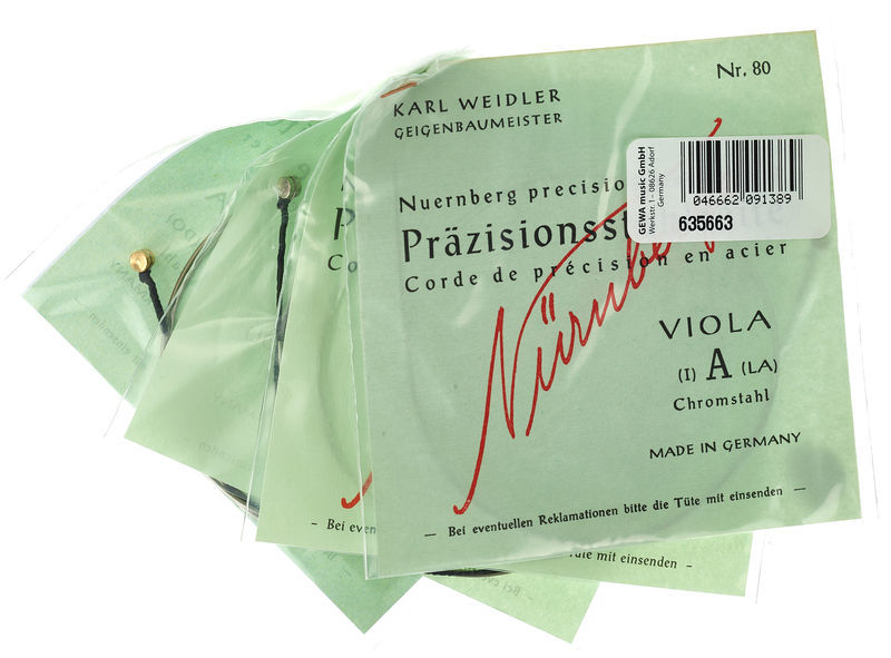 Weidler Nürnberger Präzision Viola 4/4