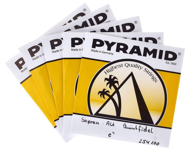 Pyramid Soprano-Alt Quintfidel Strings
