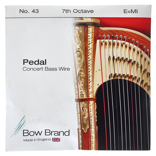 Bow Brand Pedal Wire 7th E String No.43