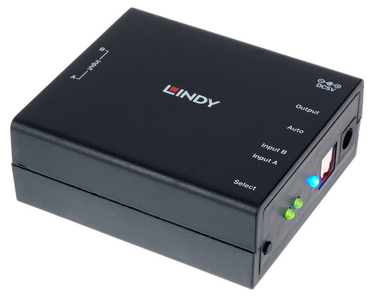 Lindy optical 2 Port Audio Switch