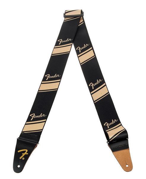 Fender Competition Stripe Strap Gold
