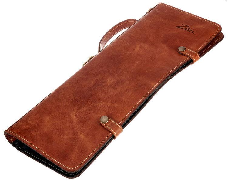 Zultan Leather Stick Bag Tan Brown