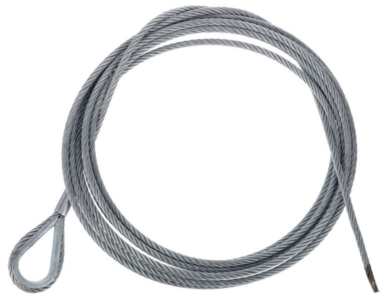Stairville Steelwire Safety 500cm/6mm