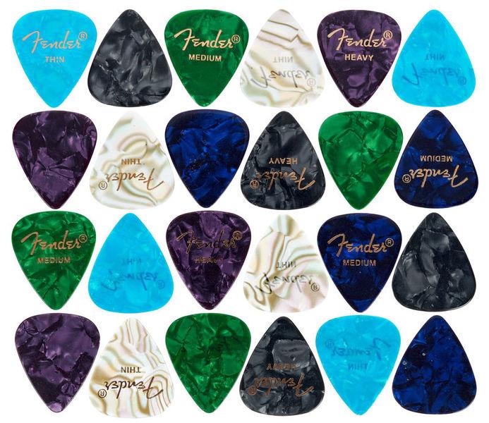 Fender Premium Cell Mix Pick Set 24