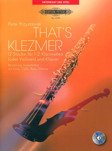 Edition Peters That's Klezmer Clarinet