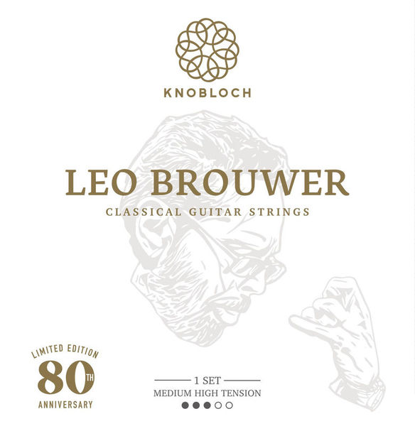 Knobloch Strings Leo Brouwer Ltd. Ed. Med.-High