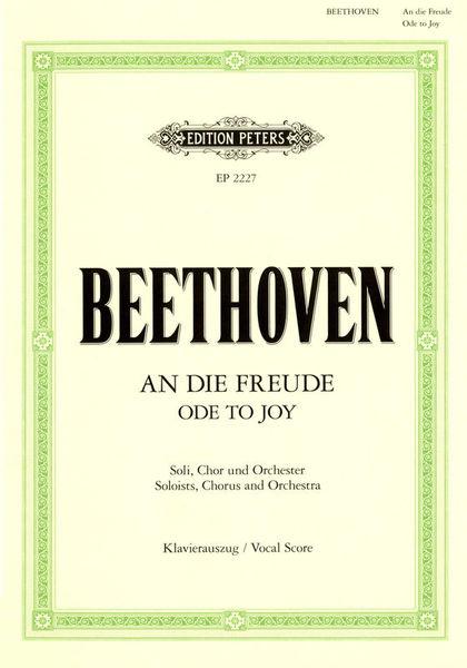 Edition Peters Beethoven An die Freude
