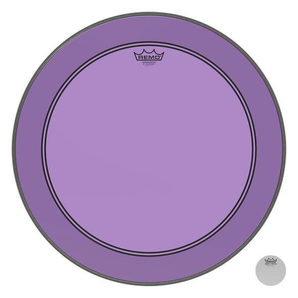 """Remo 20"""" P3 Colortone Batter Purple"""