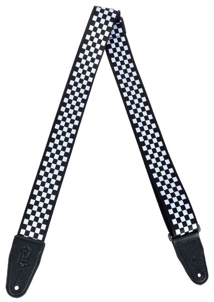 "Levys Poly Strap 2"" Checkerboard"