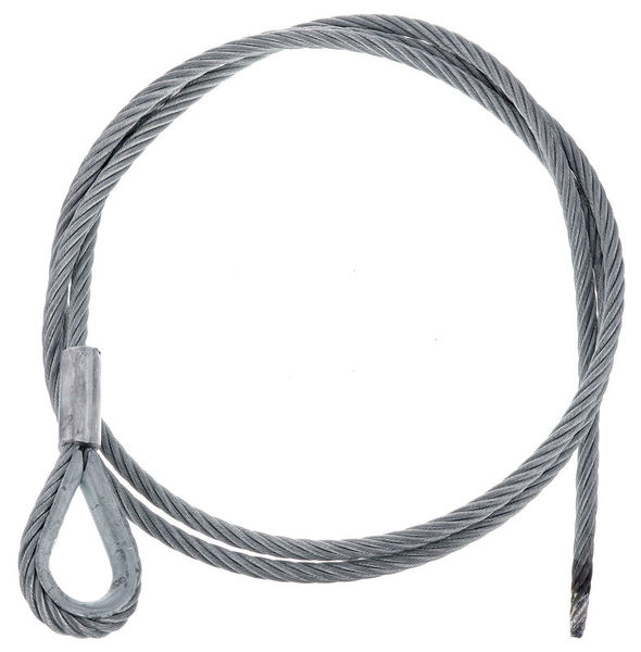 Stairville Steelwire Safety 200cm/8mm