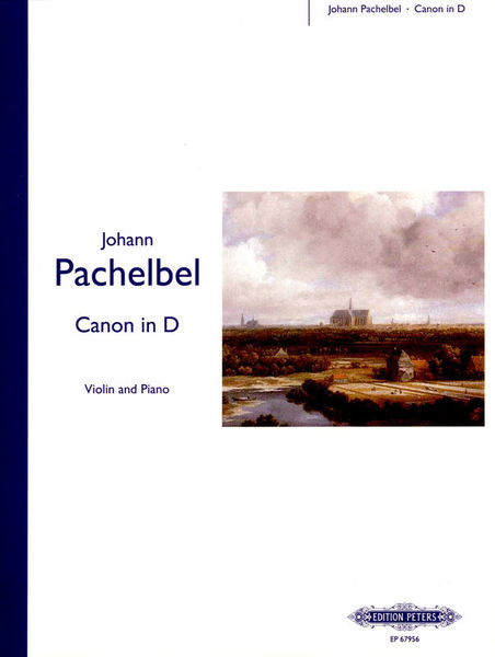 Edition Peters Pachelbel Kanon D-Dur Violin