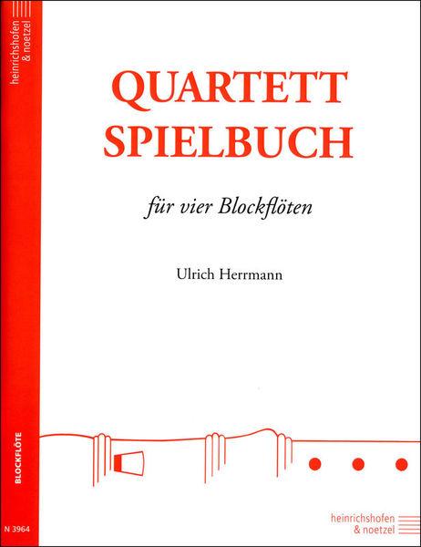 Heinrichshofen's Verlag Quartett-Spielbuch Blockflöte