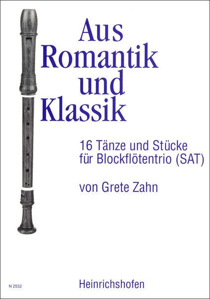 Heinrichshofen's Verlag Aus Romantik und Klassik