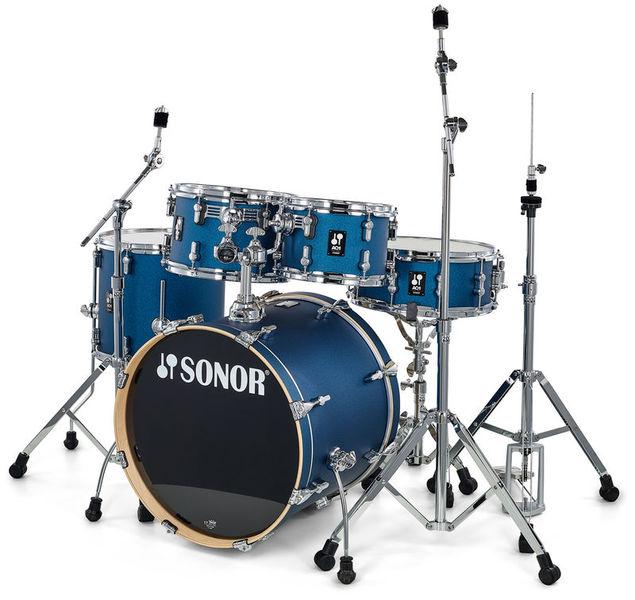 Sonor AQ1 Studio Set Dark Blue Spkl.