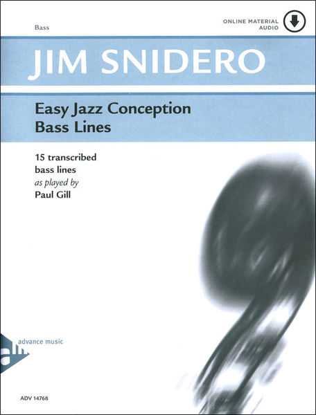 Advance Music Easy Jazz Conception Bass Line