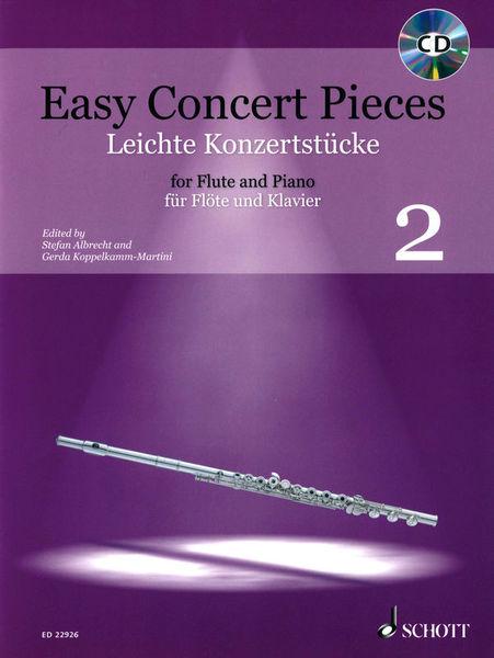 Schott Easy Concert Pieces Flute 2