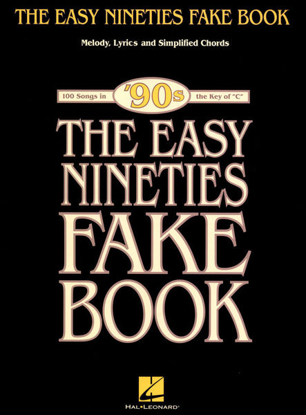 Hal Leonard The Easy Nineties Fake Book