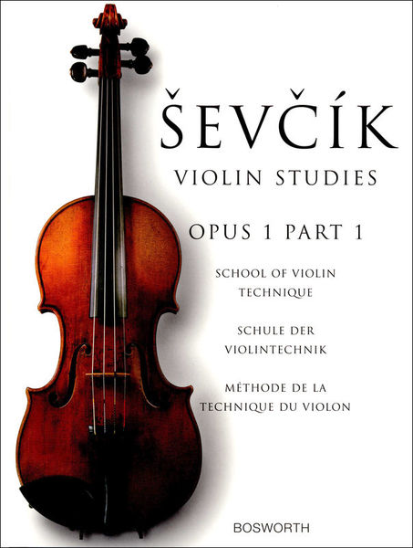 Bosworth Sevcik Violin Studies op.1 /1