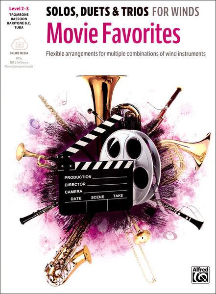 Alfred Music Publishing Movie Favorites Trombone