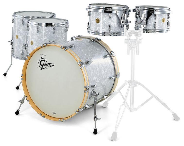 Gretsch Drums USA Custom White Marine Pearl