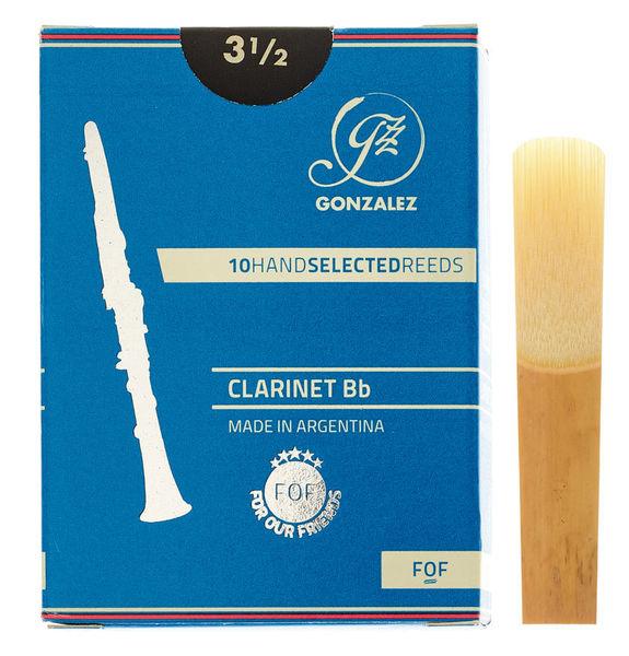 Gonzalez FOF Bb Clarinet 3.5