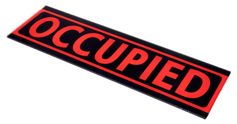 """Stairville Sign """"OCCUPIED"""""""