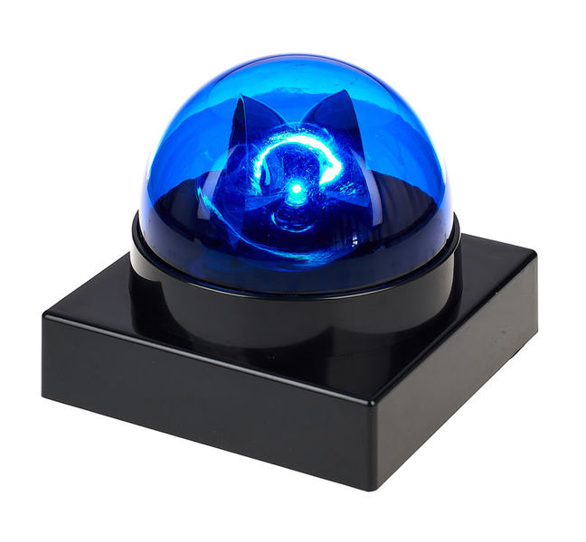 Eurolite LED Buzzer Police Light blue