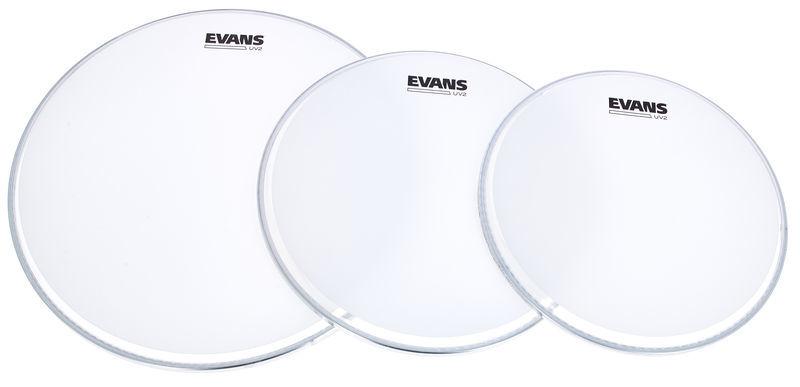 Evans UV2 Coated Tom Pack 12/13/16