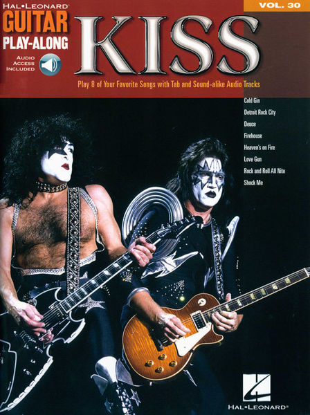 Hal Leonard Guitar Play-Along Kiss
