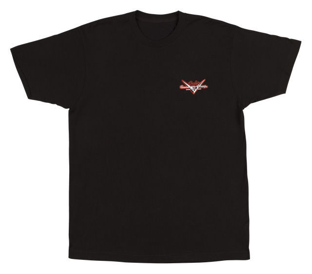 Fender T-Shirt Custom Shop Globe L