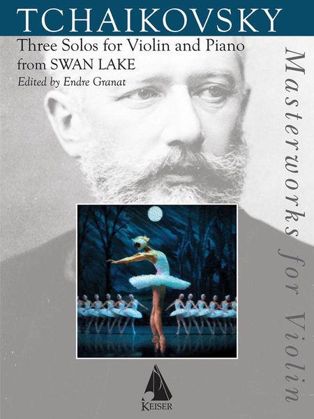 Lauren Keiser Music Publishing Tschaikowsky Three Solos VL
