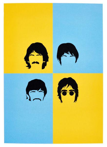 My World Beatles Greeting Card