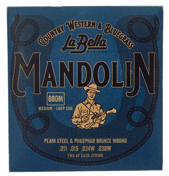 La Bella 880M Mandolin Ph.Br. Medium