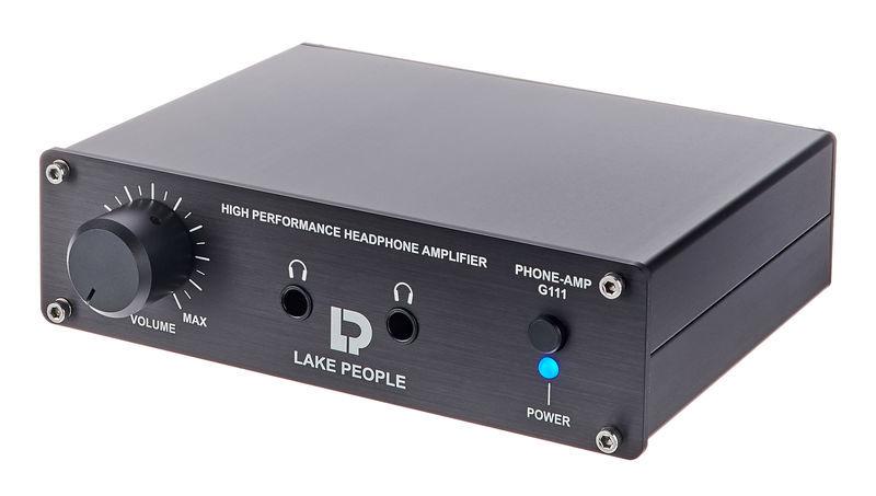 Lake People G111 Black Phoneamp