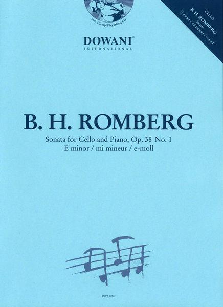 Dowani Romberg Sonata For Cello op.38