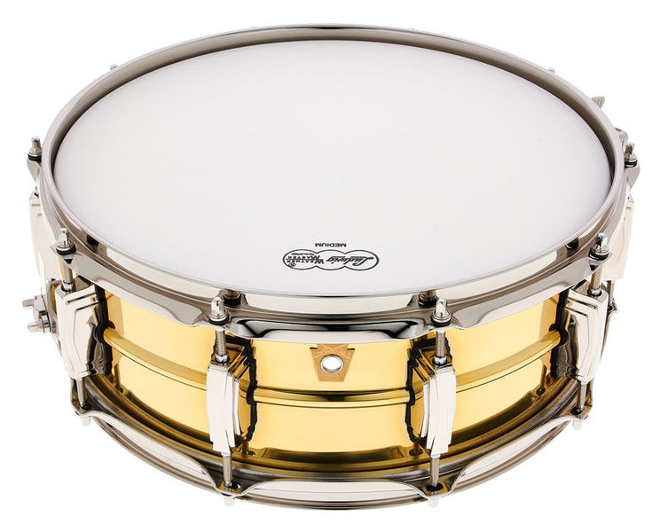 """Ludwig 14""""x05"""" Super Brass Snare"""
